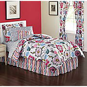 Danika Complete Bed Set, Decorative Pillow and Window Treatments