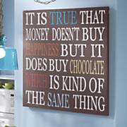 money can buy chocolate art