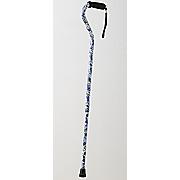 offset aluminum cane