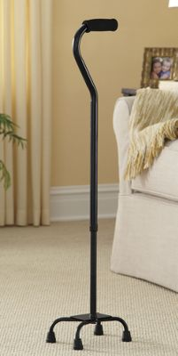 Quad Cane Adjustable Small