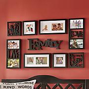 Family Photo Frame Collage