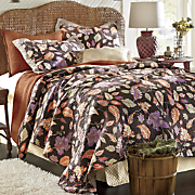 Leaf Quilt and Sham