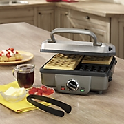 Breakfast Central Belgian Waffle and Pancake Maker by Cuisinart