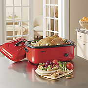 18 qt  electric roaster by nesco