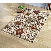 diamond scrolls shag rug