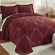 amanda chenille bedspread and sham