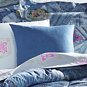jean pocket decorative pillow