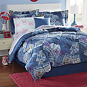 Jean Pocket Complete Bed Set and Accessories