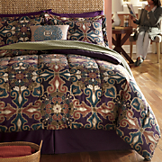 Painted Medallion Comforter Set and Accessories