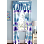 Watercolor Stripe Window Treatments