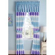 watercolor stripe window treatments