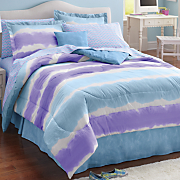 Watercolor Stripe Complete Bed Set and Accessories