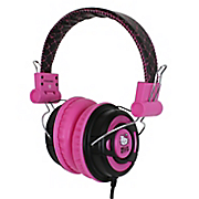 hello kitty dj style over the ear foldable headphones