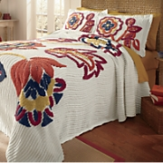 elizabeth chenille bedspread and sham