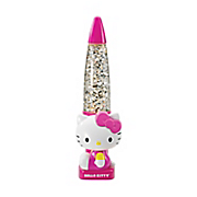 hello kitty glitter glow lamp 3198