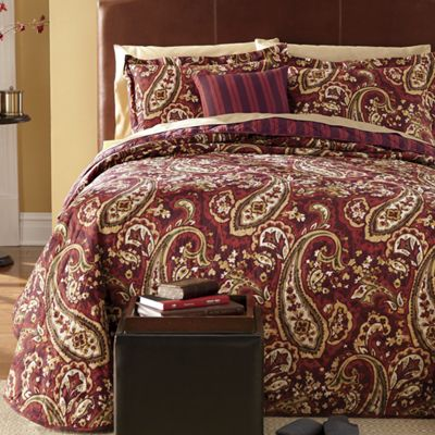 Limoges Bedspread and Accessories