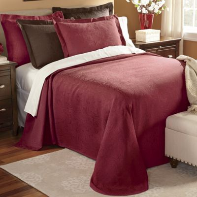 Matelasse Bedspread and Sham