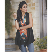 Midnight Floral Tunic
