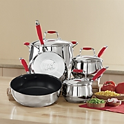 Chef Tested 8-Piece Stainless Steel Cookware Set with Silicone Handles by Montgomery Ward