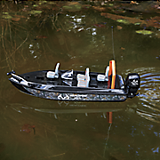 remote control camo fishing boat by realtree