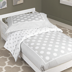 kidkraft star polka dots toddler bedding set