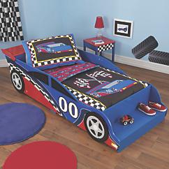 kidkraft racecar toddler bed