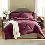 Down Alt Microsuede Comforter Set