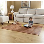 woodgrain foam floor playmat