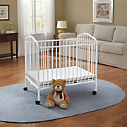 portable crib by l a  baby 1