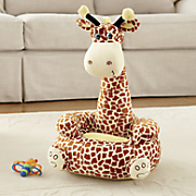 plush giraffe chair