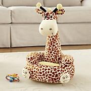 plush giraffe chair