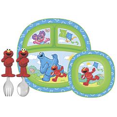 sesame street toddler dining set