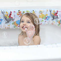 sesame street inflatable bathtub bumpers