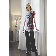 Floral Scroll Pant Set