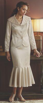 Pearl Trim Suit