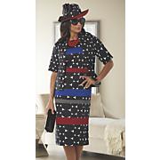 Lyssa Hat and Jacket Dress