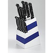 13 pc  colorblock cutlery set
