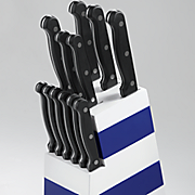 13 pc  colorblock cutlery set