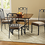 Diamond Back Dining Table and Chairs