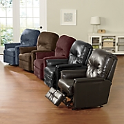 luxury recliner by serta
