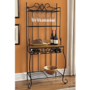 Diamond Baker's Rack with Wine Service