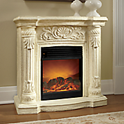 centerpointe faux stone fireplace