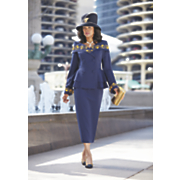 ryanna hat and ryanna skirt suit