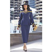 ryanna hat and ryanna skirt suit