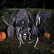 ground breaking skeleton