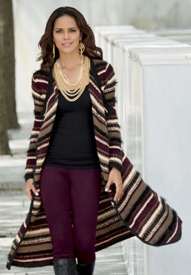 Warm Me Up Sweater Duster