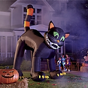 black cat inflatable