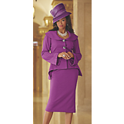 Bella Hat and Skirt Suit