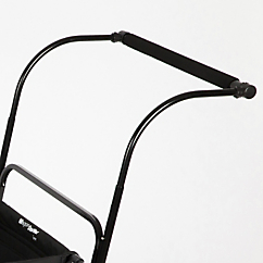 wagon stroller extended push handle