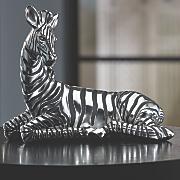 seated zebra figurine